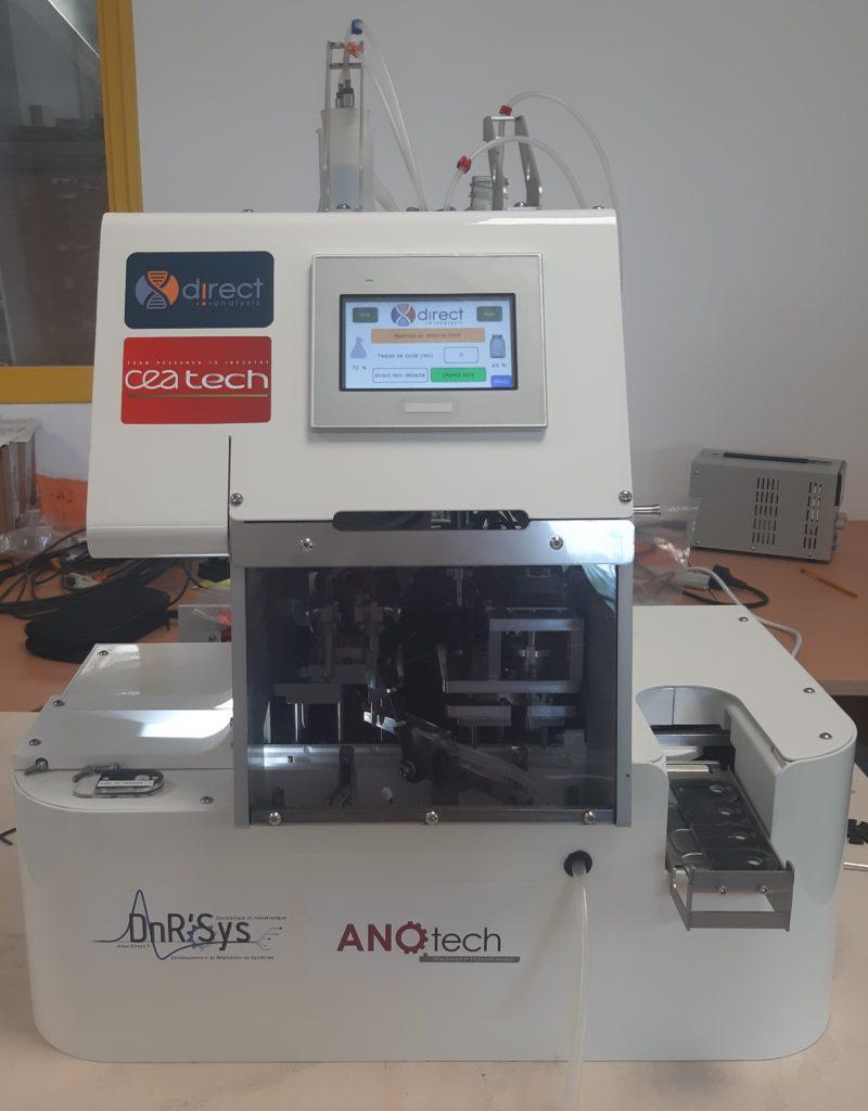 Automatisation du processus de traitement de préparation des tests PCR