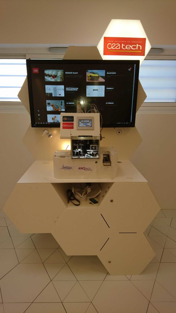 La machine pré-industrielle au CEA Tech Bretagne